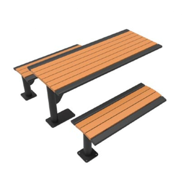 Arches 6 Ft. Recycled Plastic Cantilever Picnic Table