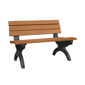 Monarque Recycled Plastic Bench