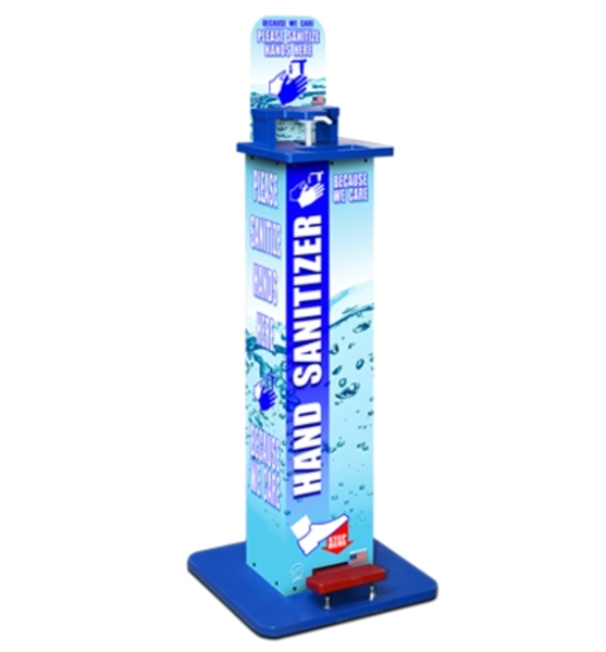 Hands-Free Sanitizer Station Standard Model