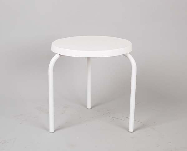 """19"""" Round Fiberglass Stackable Side Table"""