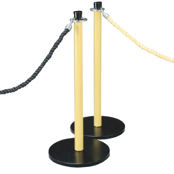 "38"" Steel Safety Post and Sign Holder - 31 lbs"