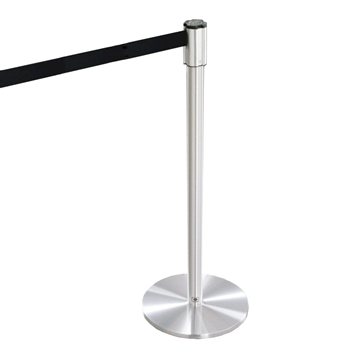 Extenda Barrier 13 ft Retractable Strap Queuing System - Flat Base