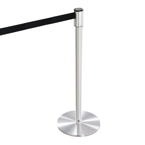 Extenda Barrier 13 ft Retractable Strap Queuing System - Flat Base
