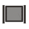 "Heavy-Duty Fencing Panel 25.5"" x 32"" Powder-Coated Steel - 22 lbs."