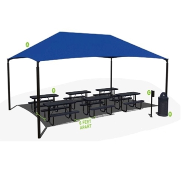 Table Package Outdoor Classroom Environment