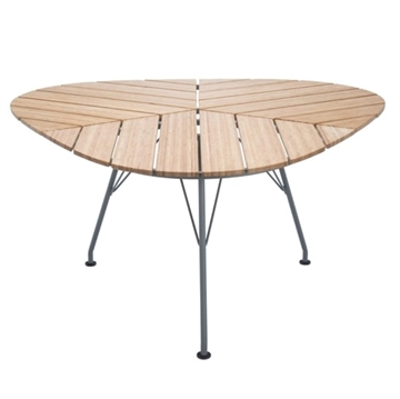 "Ledge Lounger Bamboo Playnk Dining Table 58"" Triangular  - 51.5 lbs."