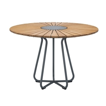 "Ledge Lounger Bamboo Playnk Dining Table Round - 43"" or 59"""