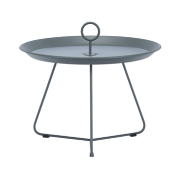 Ledge Lounger Playnk Side Table Round with Powder-Coated Steel