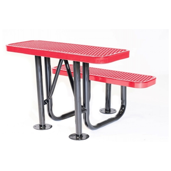 Outdoor Social Distancing Desk with Thermoplastic Finish