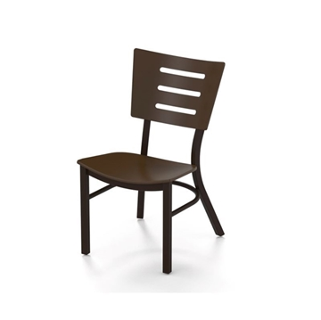 Avant MGP Dining Chair with Stackable Aluminum Frame - 16 lbs.