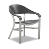Jetset MGP Dining Chair with Commercial Aluminum Frame - 17 lbs.