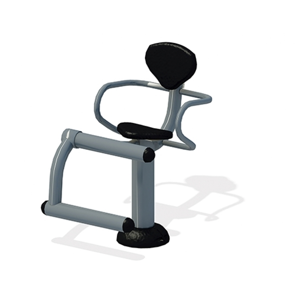 Leg Extension for Public Parks with Powder-Coated Steel Frame and Multiple Mounting Options - 218 lbs.