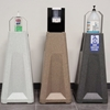 Recycled Plastic Universal Hand Sanitizing Stand - Adjustable Bracket or Touchless Mounting Plate