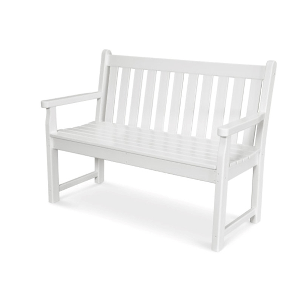 Polywood Traditional 48 In. Garden Bench Recycled Plastic