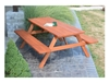 6 ft. Wooden Traditional Picnic Table - 156 lbs.