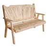 Fanback Wooden Garden Bench - 5 ft. or 6 ft.