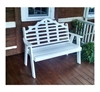 Marlboro Garden Bench Recycled Plastic - 4 ft. or 5 ft.