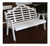Marlboro Garden Wooden Bench - 5 ft. or 6 ft.