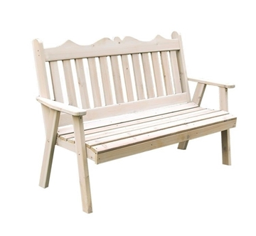 Royal English Garden Bench Wooden - 5 ft. or 6 ft.