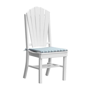 Adirondack Dining Chair Recycled Plastic - 25 lbs.