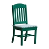 Classic Armless Dining Recycled Plastic Chair - 25 lbs.