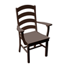 Ladderback Dining Chair Recycled Plastic - 30 lbs.