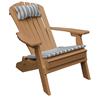 Reclining Adirondack Recycled Plastic Folding Chair - 45 lbs.