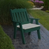 Recycled Plastic Royal English Dining Chair -  40 lbs.