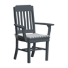 Traditional Dining Chair Recycled Plastic - 30 lbs.