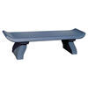 "72"" Capri Style Concrete Backless Bench, 630 Lbs."