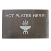Polly Hot Plate Table Barrier for Preventing Burns and Melt Damage