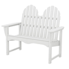 Polywood Adirondack Bench 48 In. Recycled Plastic