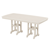Polywood Nautical Rectangle 37x72 In. Dining Table Recycled Plastic