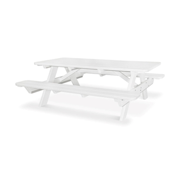 6 ft. Rectangular Recycled Plastic Picnic Table, 288 lbs.