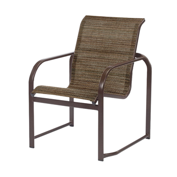Monterey Dining Chair Fabric Sling with Aluminum Frame