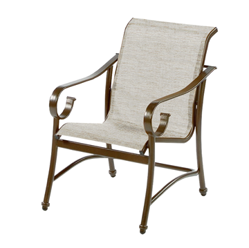 Tradewinds Sling Dining Chair with Aluminum Frame