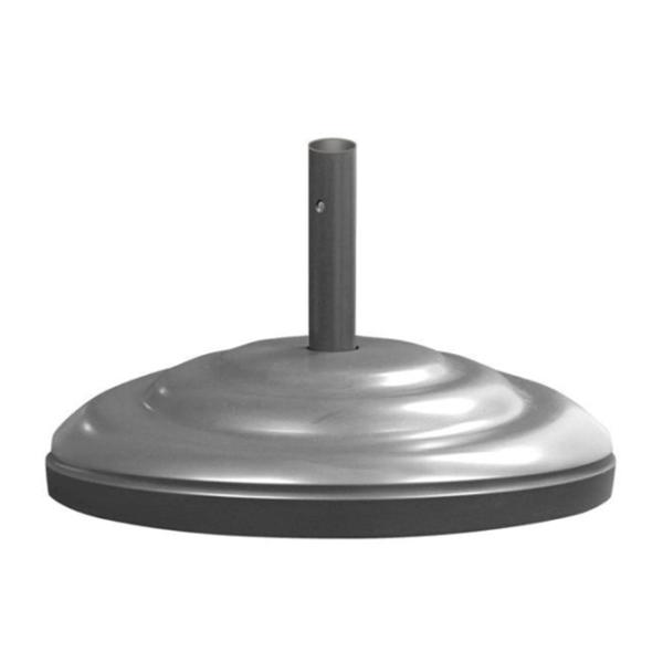 """Umbrella Base 23"""" Diameter Aluminum Filled With Concrete - 115 lbs."""