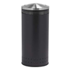 25 Gallon Powder Coated Steel Trash Can with Swivel Top