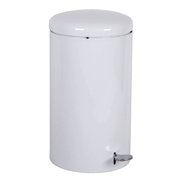 7 Gallon Round Trash w/ step-on opening