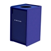 42-Gallon Top-Opening EarthCraft Plastic Recycling Receptacle - 92 lbs.