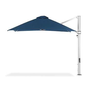 10 Foot Square Aluminum Cantilever Umbrella with Marine Grade Fabric