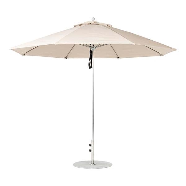 11 Foot Octagonal Fiberglass Market Umbrella