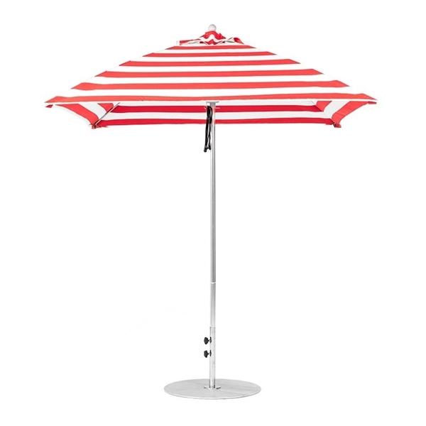 7 ½ ft. Square Fiberglass Market Umbrella