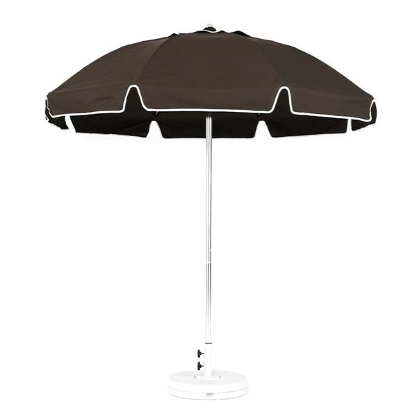 7.5 Ft. Catalina Fiberglass Patio Umbrella with Manual Lift