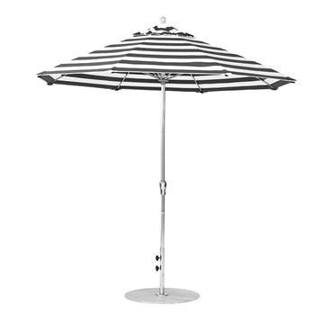 9 Foot Octagonal Fiberglass Crank Lift Market Umbrella