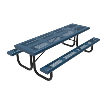 8 Foot Rectangular Picnic Table