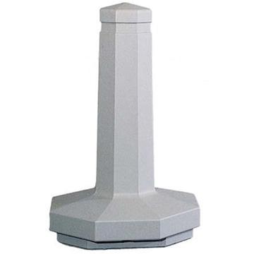 "22"" Octagonal Concrete Bollard, Portable, 315 Lbs."