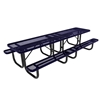 10 Ft. RHINO Rectangular Thermoplastic Picnic Table with Portable Frame