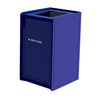 42-Gallon Top-Opening EarthCraft Plastic Trash Receptacle - 92 lbs.