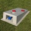 Concrete Cornhole Game Board Scene